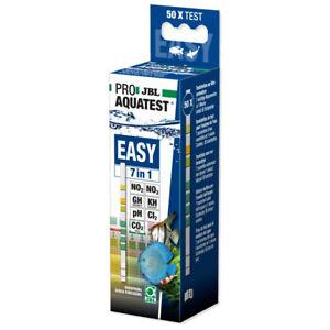 JBLEasy Test 7in1 Test Strips Kit pH Nitrate Nitrite Chlorine CO2 etc Aquarium