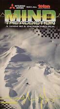 Mind The Addiction Teton Gravity Research VHS Tape Ski & Snowboard Film 16mm