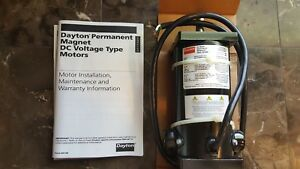 Dayton Electric 1/8hp 1800 RPM 90V DC Motor # 4Z140D