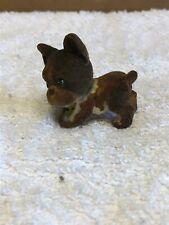Vintage Mini Felt Dog Figurine