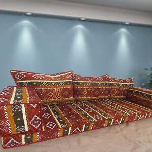 FLOOR Couch | TRIBAL Style Sofa Set | MAJLIS Furniture | PREMIUM Quality!