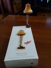 2009 Hallmark Keepsake What a Lamp! A Christmas Story Christmas Ornament