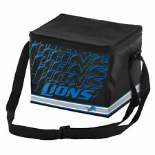 NFL Detroit Lions Impact 6 pack Cooler Lunch Box Bag Insulated