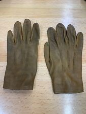 Dan ~ 4Th & Wb ~ Children ~ Leather Gloves Vtg Rodeo Work Roping Doll Antique