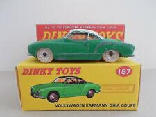 DINKY TOYS 187 VW Karman Ghia, GRÜN 1:43