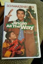 Jingle all the way clam shell cas vhs sealed