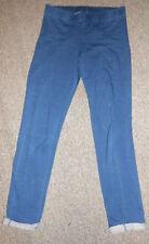 45Ab H&M enfants jersey stretch leggings / gr. 170 jeans bleu LOOK