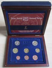 Portugal KMS Kursmünzensatz PP 2003