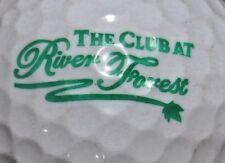 RIVER FOREST - THE CLUB GOLF CLUB GOLF COURSE LOGO GOLF BALL