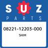 08221-12203-000 Suzuki Shim 0822112203000, New Genuine OEM Part