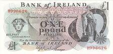 Bank of Ireland £1 Note - BYB ref: NI.205 - UNC.