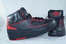 Nike Air Jordan II Retro 2 Chicago Bulls Gr: 42 Schwarz Baskatball Turnschuhe