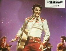 THIS IS ELVIS - Elvis Presley - SET 12 PHOTOGRAPHIES D'ÉPOQUE LOBBY CARDS (1981)