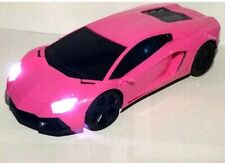 SUPER FAST RADIO REMOTE CONTROL 1:16 PINK LED FAST DRIFTING-IDEAL GIFT PINK CAR