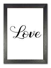 Liebe inspirierende Zitat Leben Motivation Poster schöne weiß Foto groß