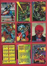 1993 SKYBOX Marvel Universe series 4 Complete Your Set U pick 8 cards NM to Mint