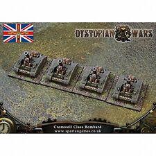 Dystopian Wars-Regno di Britannia Cromwell CLASSE Bombard DWKB 24 x 6 + scheda