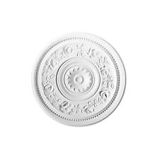 Ceiling Medallion 15 inch Primed White round R61 Orac Decor canopy dome large