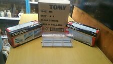 TOMY Tomica HYPERCITY #85201 Clear Tunnel X 4 units