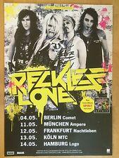 RECKLESS LOVE 2014 TOUR   ++  orig.Concert Poster - Konzert Plakat  NEU