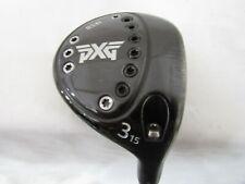Used RH PXG 0341 15* 3 Fairway Wood Grafalloy AXIS 60 Graphite Stiff S Flex