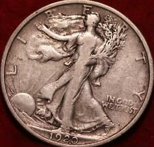 1920-S San Francisco Mint Silver Walking Liberty Half