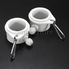 2PCS Flag Mounting Rotating Rings Holder Pole Clips For 1'' Holder Flagpoles US