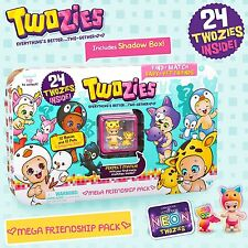 Twozies 57033 Mega Friendship Pack with 24 Twozies Figures!!
