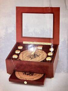 Mr. Christmas Bell Symphonium Music Box Player w/ Discs Classic Christmas in BOX