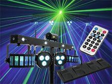 Eurolite LED KLS Laser Bar FX-Lichtset 2x Derbys + 2x Spots + 4x Strobe + Laser