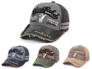 Black Rebel Kappe Unisex Baseball Basecap Snapback Cap Retro Vintage
