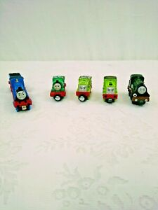 Thomas And Friends Die Cast 5 Engines 1 Tender Percy Scruff Emily& Thomas Mattel
