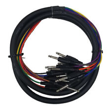 """Cable Up CU/SU202 6' 1/4"""" TS Male to 1/4"""" TS Male Audio Snake (8-Channel)"""