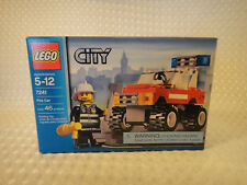 Lego City #7241 Fire Car SetEmergency Rescue Fireman 4X4 Jeep New