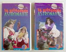 2 Cassettes Vhs De L'ÉMission De Tv De 1993, La Princesse Astronaute