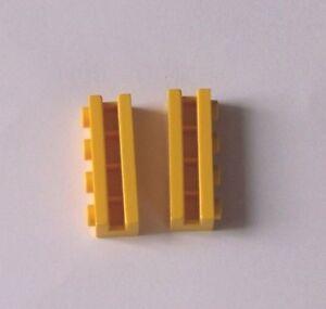 LEGO®  2 Steine mit Führung, Gelb, 1 x 4, z.B. für 4555, 6542 oder 5956 ( 2653 )