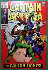 Captain America (1968) #118 VG/FN (5.0) 2nd app Falcon