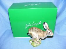John Beswick Hare Leaping JBCA5 Brand New Boxed