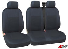 QUALITY FABRIC 2+1 SEAT COVERS FOR VW VOLKSWAGEN TRANSPORTER T4 92-04 T5 T28/30