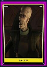 Topps Star Wars SAN HILL PURPLE BASE SERIES 5 PREVIEW Digital Card Trader