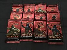 MTG MAGIC LOT DE 12 BOOSTERS HOUR OF DEVASTATION AGE DE LA DESTRUCTION FRANCAIS