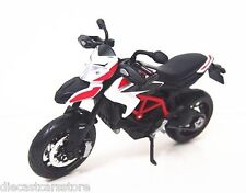 MAISTO 2013 DUCATI HYPERMOTARD SP BIKE MOTORCYCLE 1/12 BLACK WHITE RED 13015