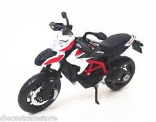 MAISTO 2013 DUCATI HYPERMOTARD SP BIKE MOTORCYCLE 1/12 BLACK WHITE RED 13015