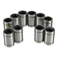 Anet 12pcs LM8UU Linear Bearings Linear Bearings Replacement for 3D Printer CNC