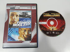 PANICO NUCLEAR DVD SLIM BEN AFFLECK MORGAN FREEMAN ESPAÑOL ENGLISH