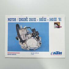 KTM 500 600 ENDURO MANUTENZIONE istruzioni manual manuale manuale di istruzioni ha1