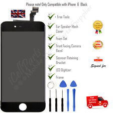 Apple iPhone 6 Black LCD OEM Screen and Digitizer Assembly With Frame + Tools