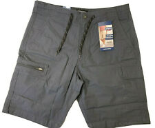 """Levis Denizen Casual Summer 10"""" Cargo Shorts Mens 34 Reg Gray - New with Tags"""