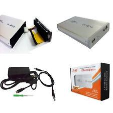 """CASE BOX ESTERNO 3,5 IDE USB 2.0 PER HARD DISK 3,5"""" IN ALLUMINIO LINQ"""