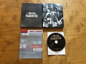 The Bride Of Frankenstein Blu ray*Universal*Slipcover*30's Classic*Steelbook*